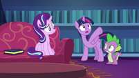 "Twilight Sparkle ""turned into all of this"" S6E21"