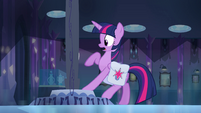 Twilight pulls her hoof away EG