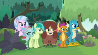 Young Six glancing to the right S8E9