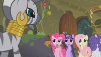 Zecora confronts the ponies S1E09
