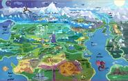 خريطة إكوستريا