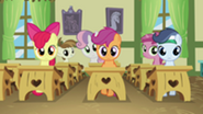 201px-Everypony staring at Diamond Tiara S2E23