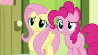 Fluttershy worried about the Crusaders S8E12