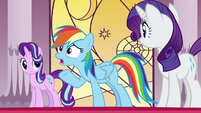 """Rainbow Dash """"the Pony of Shadows was really real?"""" S7E25"""
