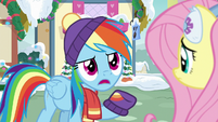 """Rainbow Dash """"there's gotta be something"""" MLPBGE"""