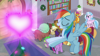Rainbow Dash -and 'cause it looks cool- S8E16