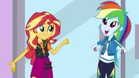 Rainbow Dash comes up with an idea EGDS2
