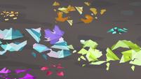 Rarity's gems shatter on the cave floor S8E17