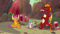 Smolder volunteers to go first S9E9