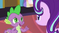 "Spike ""it's like Rarity always says"" S7E1"