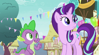 """Spike """"or we could stay here"""" S7E15"""
