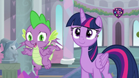 """Spike """"some good news, right?"""" S9E3"""