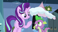 Starlight --was supposed to keep the cold weather out-- S6E2