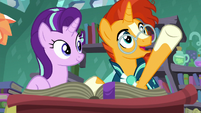 """Sunburst """"an object that was lost in the past"""" S7E1"""