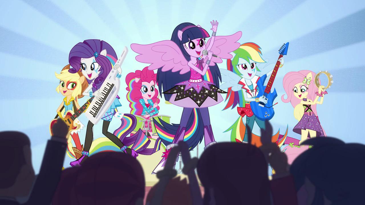 My Little Pony Equestria Girls: Rainbow Rocks/Animated shorts