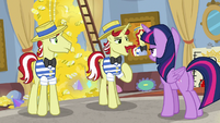 "Flam ""you have something on us"" S8E16"