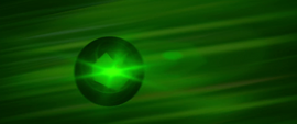 Obsidian sphere flying through the air MLPTM