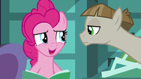 """Pinkie Pie uncomfortable """"suggest away!"""" S8E3"""