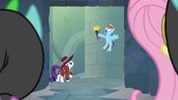"""Rainbow """"secret passage to the castle!"""" S9E4"""