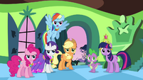 """Rainbow Dash """"oh, give it a rest!"""" S03E10"""