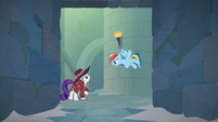 """Rainbow Dash """"the other half might open"""" S9E4"""