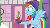 Rainbow Dash shocked to see Discord MLPBGE