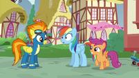 Rainbow Dash still in stunned silence S6E7