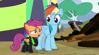 """Scootaloo """"didn't care about me being scared"""" S8E20"""