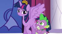 Spike embarrassed S5E10