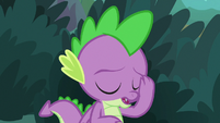 Spike filled with regret S9E23