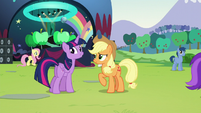 Twilight --Are you sure you've never managed a concert before--- S5E24