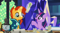 Twilight Sparkle -that goes well with- S7E24