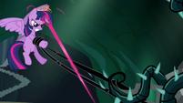 Twilight cutting vine with magic S4E02