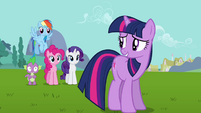 Twilight relieved -if he gets out of hand- S03E10