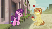 Feather Bangs impresses Sugar Belle with his juggling S7E8.png