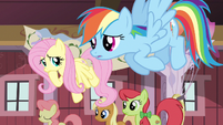 Fluttershy Rainbow worried S02E14