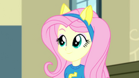 Fluttershy smiling contently SS4