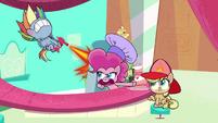 """Pinkie """"I said preheat, not overheat!"""" PLS1E3a"""
