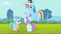 Rainbow '... go coach these other ponies!' S4E05