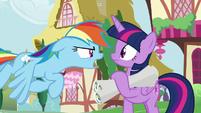 "Rainbow Dash ""seriously?!"" S8E20"