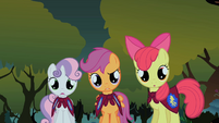 Scootaloo 'Two chickens?' S1E17
