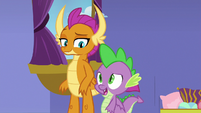 """Spike """"we're not gonna live here"""" S8E24"""