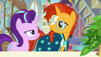 Starlight and Sunburst look at each other S9E20