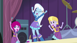 Trixie and her friends cheering EG2