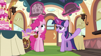 Twilight levitating the hats S2E24