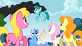 1000px-Ponies noticed the smoke S01E07