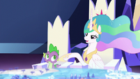 Celestia tells Twilight to go on S7E1