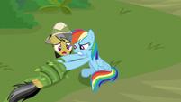 """Daring Do """"get back, Rainbow Dash!"""" S9E21"""
