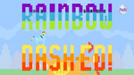 Hub Promo - 8 bit commercial Rainbow Dashed