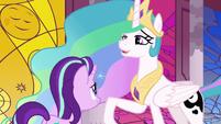 "Princess Celestia ""I don't know about you"" S7E10"